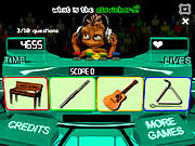 Play Instruments trivia Game