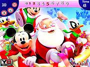 Play Mickey and santa christmas Game