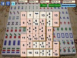 Mahjong Math game