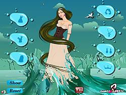 Water Fantasy Girl Dress Up game