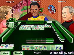 Obama Traditional Mahjong game