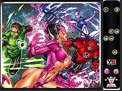 Hidden Numbers-Green Lantern game
