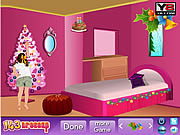 Play Christmas bedroom decor Game