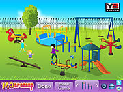 Play Kids playground decor Game