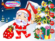 Play Santa dress up Game