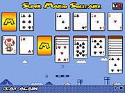 Play Super mario solitaire Game