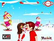 Play Merry christmas kiss Game