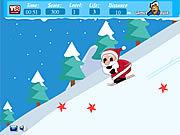 Santa ski juego