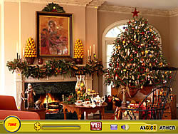 Treasure Hunt-Christmas Tree game