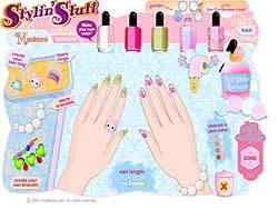 Nail Art Salon game