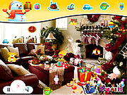 Play Santa christmas room Game