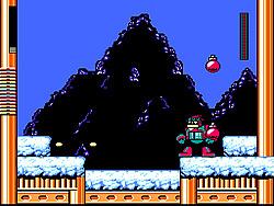 玩免费游戏 Mega Man Christmas Carol