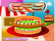 Play Decor your hot dog Game