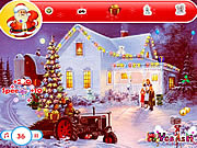 Find christmas gifts game juego