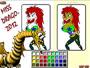 Play Miss drago-2012 Game