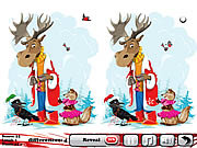 Play Cristmas story 5 differences Game