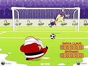 Santa goal Spiele