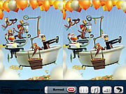 Play Air 5 differences Game