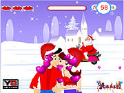 Play Kiss christmas kiss Game