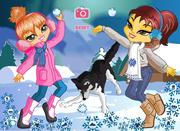Play free game Alaskan Snowball Fun!