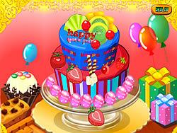 Happy Newyear Cake game