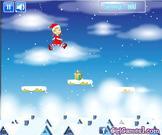 Play Christmas girl jumps Game