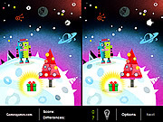 Play A robots christmas Game
