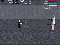Galactic 123 Frontline game