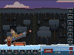 Canoniac Launcher Xmas game