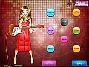 Play Disco girl dress up game Game