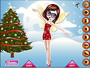 Jugar Christmas fairy dress up game Juego
