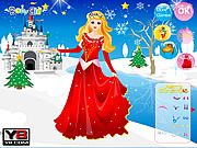 Play Disney princess christmas Game