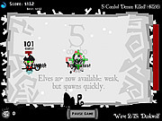Play Ultimate santa battle Game