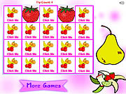 Fruit matching pairs Gioco