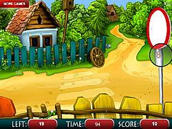 Sweet House Hidden Numbers game
