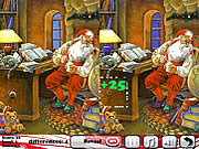 Business Santa 5 Differences game
