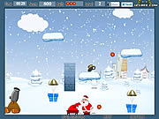Play Santa s x-mas gift Game