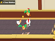 Chicken jockey 2 - clucktible card racers juego