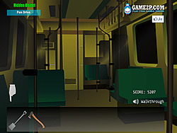 Mystery Rail Train game