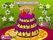 Play Funny cake decor Game
