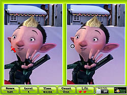 Arthur Christmas - Spot the Difference game