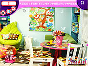 Play Kids garden room hidden alphabets Game