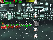 Play Merry christmas attack of the snowmen Game