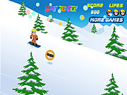 Play Naruto snowboarding Game
