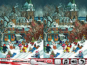 Play New year s fairy tale 5 differences Game