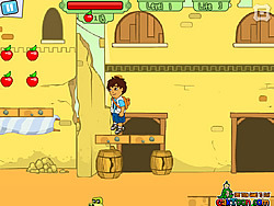 Diego Crystal Adventure game