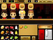 Play Burger bar game Game
