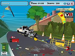 무료 게임 플레이 Road Accident Cleaning