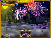 Play Toto s new year fireworks Game