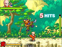 Играть бесплатно в игру Dragon Ball fighting 2